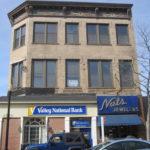 Front Facade prior to brick lintel repairs
