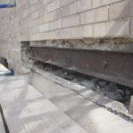 Steel Spandrel beam conditions behind Brick Lintel