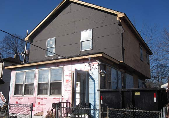 before stucco siding by exterior Stucco Contractor